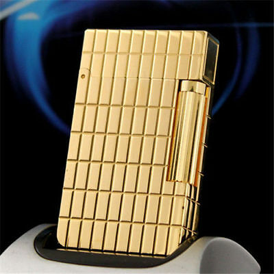 2019 NEW S.T Memorial lighter Bright Sound ! beautiful gold color lighter