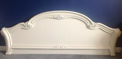 Stunning Super King Size Carved Headboard