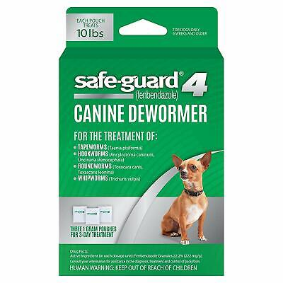 8in1 Safe-Guard Canine Dewormer for Dogs, 3-Day Treatment,S / M / L