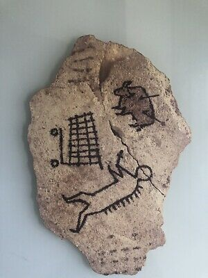 Banksy Authentic British Museum Peckham Rock Wood Sculpture Postcard Un Signed