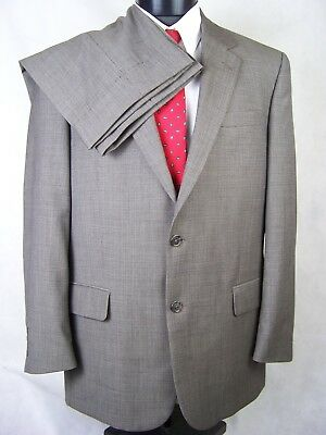Jos. A. Bank Suit Taupe 2 Button Wool Mens 42R