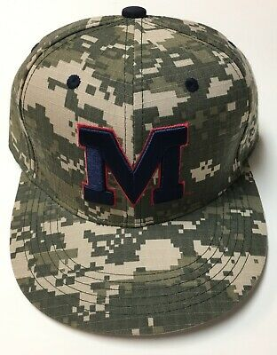 cb0b7fc61c1d2 ... Fitted 7 1 4 New Mississippi Blue Red Navy Rebels.  22.00 Buy It Now 9d  2h. See Details. Ole Miss Rebels Military Baseball Hat Cap Stadium Give Away
