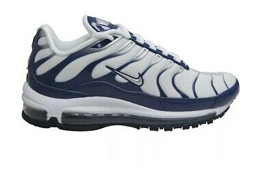 sports shoes 8254b d81f6 Nike Air max 97   plus trainers White Blue AH8144 100 uk7.5 eu42 us8