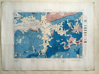 Two 1st Edition (1860) hand-coloured Geological Survey of Ireland Maps