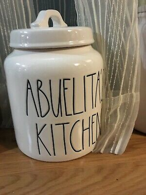 Rae Dunn Canister Artisan Collection By Magenta (Abuelitas kitchen). LL/VHTF