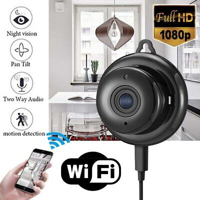Mini Wireless WIFI IP Camera FHD 1080P With Audio Night Vision for Home Security