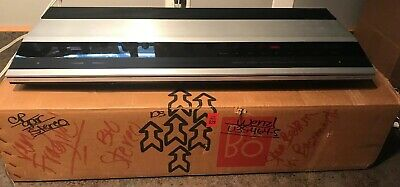Bang And Olufsen Beomaster 2000 Stereo Tuner Amp  Works Great With Box Manual