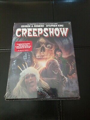 CREEPSHOW COLLECTOR'S EDITION (Blu-ray, Scream Factory) BRAND NEW & SEALED
