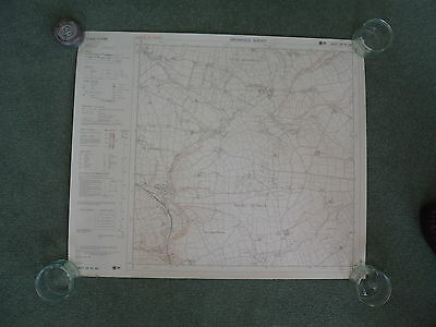 "Ordnance Survey 6"" map SM92NE Dyfed 1980 Wolf's Castle, Little Newcastle"