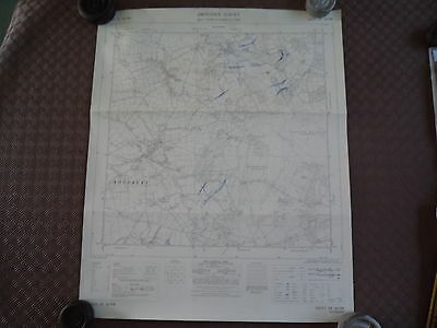 RARE Ordnance Survey map SY 08NW Woodbury 1963 Bicton Common, NEAR Clyst St Mary