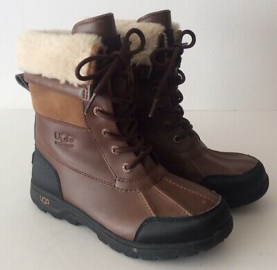e10cbc1980b UGG 1005582K BUTTE II WORCESTER WATERPROOF WINTER SNOW BOOTS KIDS ...