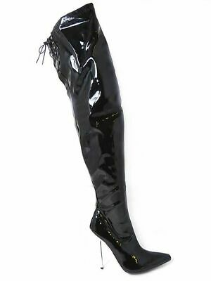 Sexyca A12458M Thigh High Boots UK 9 to 12 Black