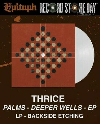 """Thrice Deeper Wells Vinyl Record RSD Record Store Day Limited Edition 12"""" EP NEW"""