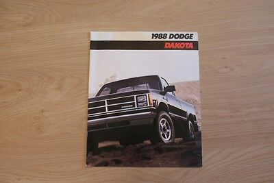 Dodge Dakota Brochure / Prospekt 1988