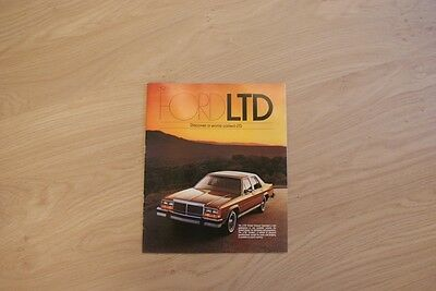 Ford Ltd Brochure / Prospekt 1981