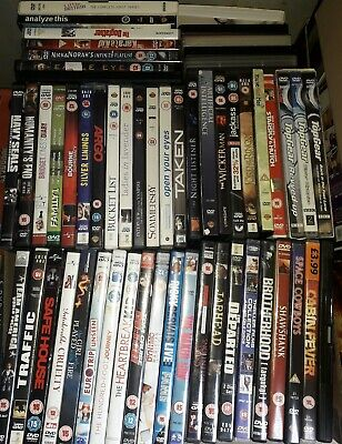 50 dvd bundle mixed carboot joblot