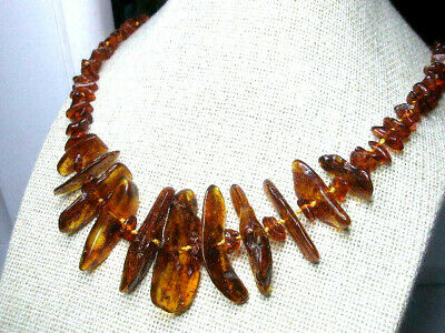 Real Baltic Amber  Ladies' Necklace