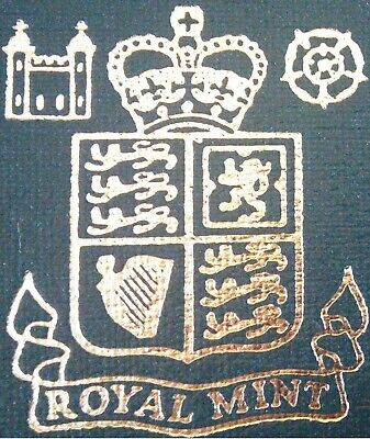 (ROYAL MINT UK proof coin sets) COVERS & PLASTIC CASES/INSERTS ONLY (1982-2008)