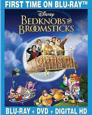 BEDKNOBS AND BROOMSTICKS Blu-ray + DVD + Digital HD Special Edition Disney NEW