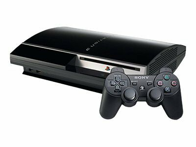 Sony PlayStation 3 PS3 80GB Console With Game Controller CECHL01 Bundle