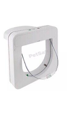 Petporte smart flap Microchip Cat Flap - White