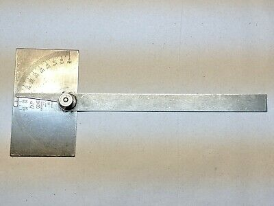 Vintage General Hardware No. 17 Protractor Gauge Machinist Woodworking
