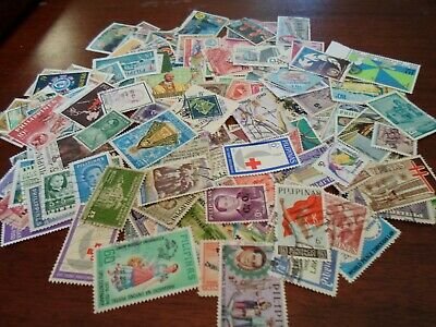 Collection lot 180 different stamps of the Philipines