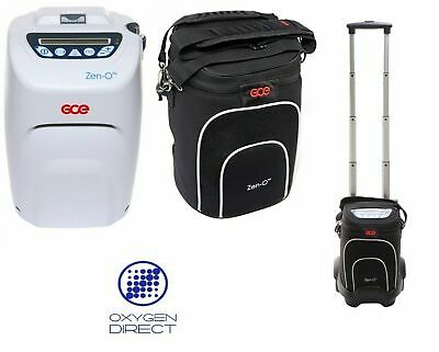New GCE (UK) Zen-O Portable Oxygen Concentrator,06 month Warranty,FAA Approved
