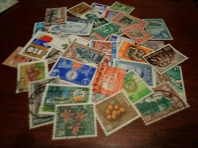 Collection lot 40 different stamps of Ceylon / Sri Lanka