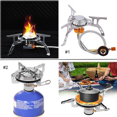 Outdoor Camping Stoves Folding Gas Stove Portable Burner Picnic Cooker Burner