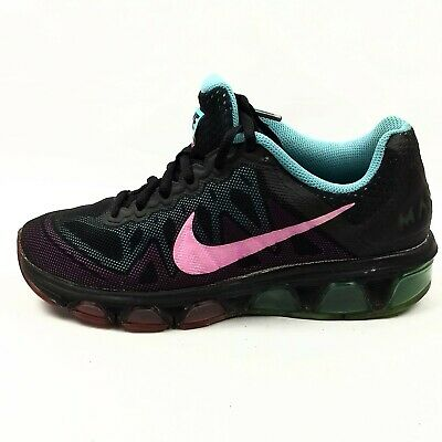 aba0777ae1 Nike Air Max Tailwind 7 Running Shoes Womens Size 7 EUR 38 Black Pink 683635 -