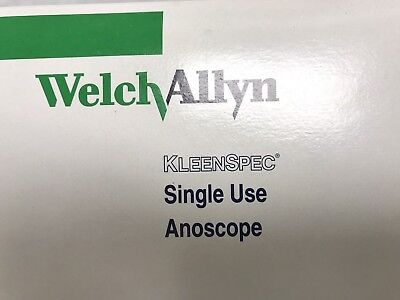 Welch Allyn Disposable Anoscope KleenSpec 53110, quantity of 9