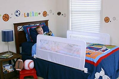 Regalo Swing Down Double Sided Bed Rail Guard w/ Reinforced Anchor Safety System