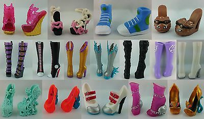 Monster High Schuhe Shop 3 - Basic Shoes High Heels Boots Stiefel - Frankie Cleo