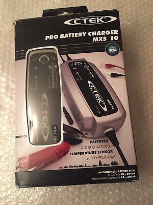 CTEK MXS 10 Pro 12v 10A 8 Step Car Van 4x4 Smart Battery Charger PART OR REPAIR