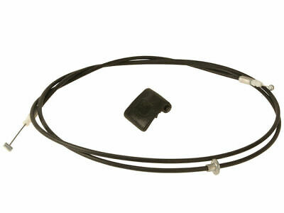 APDTY 023177 Hood Release Cable with Pull Handle For 1998-2002 Toyota Corolla Replaces Toyota Part #: 5363002020