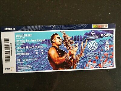 Andreas gabalier ticket stuttgart