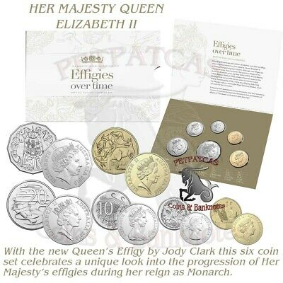 2019 6 Coin Effigies Over Time Uncirculated Set
