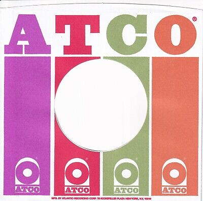 ATLANTIC GROUP Company Reproduction Record Sleeves  (pack of 12] ATLANTIC GROUP