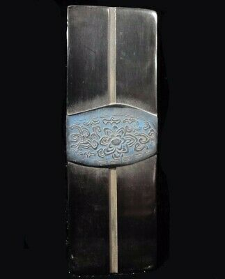 Very Rare Old Chinese Hand Carving Black Ink Stick Top Quality
