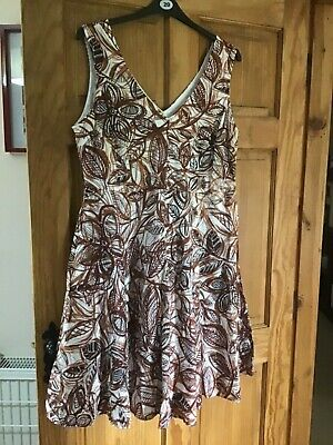 906f83142be MATALAN GREEN DRESS Size XL APPROX SIZE 20 - £1.10 | PicClick UK