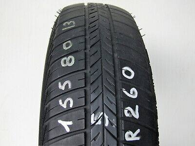 Gomme Usate 155/80 R13 Pneumatici Bf Goodrich Misura 1558013 Touring Auto -K260-