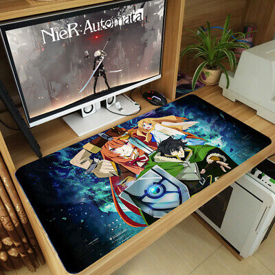 The Rising of the Shield Hero Anime Thicken Mouse Pad Gaming Play Mat Keyboard