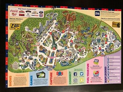 2014 KINGS DOMINION Amut Park Map Guide 40th Anniversary ... on mt. olympus water & theme park map, universal studios map, carowinds map, kingda ka map, silver dollar city map, six flags map, virginia map, geauga lake map, canada's wonderland map, richmond map, world map, amusement park map, valley fair map, cedar point map, knott's berry farm map, nickelodeon universe map, printable kings island 2014 map, dorney park map, nagashima spa land map, canobie lake park map,