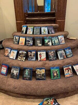 HUGE Lot of Blu-Ray Movies Pick 4 movies. New Movies Added!!