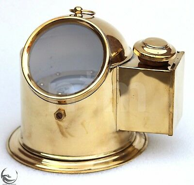 Nautical Marine Maritime Brass Binnacle Compass Boat lamp Nautical Compass Gift.