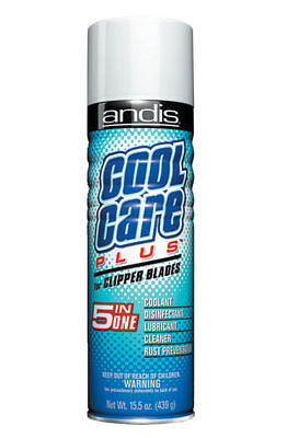 Andis 12750 15.5 Oz. Cool Care Plus Clipper Blade 5 in One Coolant Cleaner