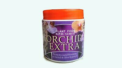 Orchid Fertilizer | plant Food | promote rapid Blooming |N:P:K 12:40:12 | 120g