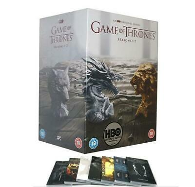 UK Game Of Thrones The Complete Season 1-7 New&Sealed Boxsets 1 2 3 4 5 6 7 HOT