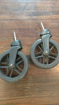 UPPAbaby VISTA Stroller Front Wheels (2012-2014)   Pre-owned